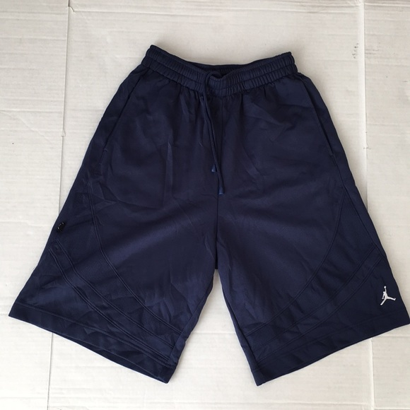 Jordan Shorts | Navy Blue Basketball